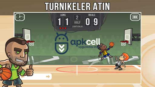 Basketball Battle v2.1.20 MOD APK – PARA HİLELİ