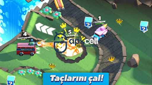 Crash of Cars v1.3.02 MOD APK – PARA / ELMAS HİLELİ