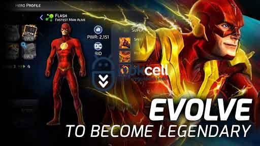 DC Legends Battle for Justice v1.23 MOD APK – MEGA HİLELİ