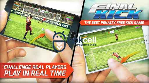 Final kick 2018 Online Football v8.0.8 MOD APK – MEGA HİLELİ