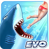 Hungry Shark Evolution v6.6.2 MOD APK – PARA / ELMAS HİLELİ