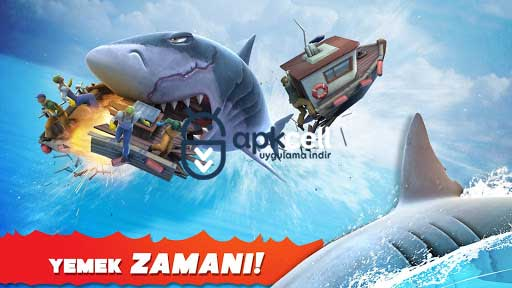 Hungry Shark Evolution v7.3.0 MOD APK – PARA / ELMAS HİLELİ