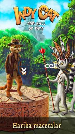 Indy Cat Match 3 v1.61 MOD APK – PARA / CAN HİLELİ