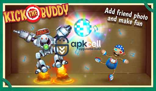 Kick the Buddy v1.0.2 MOD APK – PARA / ALTIN HİLELİ