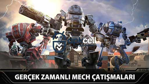Last Battleground Mech v3.2.0 MOD APK – MEGA HİLELİ