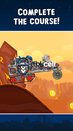 RoverCraft Race Your Space Car v1.40 MOD APK – PARA HİLELİ