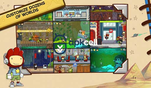 Scribblenauts Unlimited v1.27 FULL APK – TAM SÜRÜM