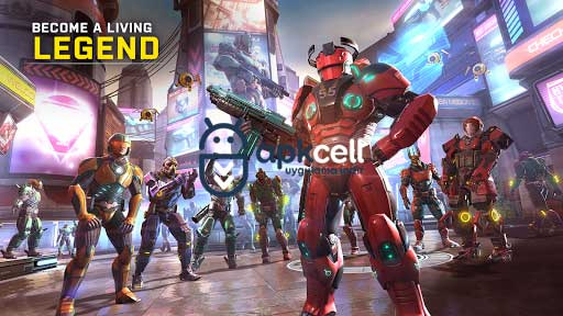 Shadowgun Legends v0.8.3 MOD APK – MEGA HİLELİ