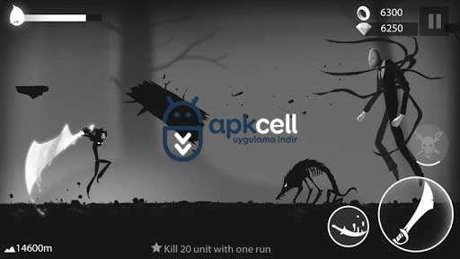 Stickman Run Shadow Adventure v1.2.8 MOD APK – PARA HİLELİ