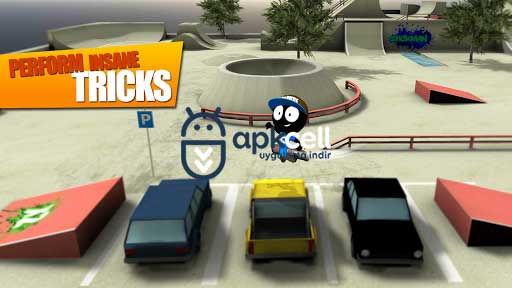 Stickman Skate Battle v2.1.1 FULL APK – TAM SÜRÜM