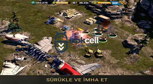 War Commander Rogue Assault v2.30.2 MOD APK – HASAR HİLELİ