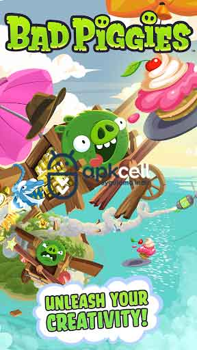 Bad Piggies HD v2.3.6 MOD APK – MEGA HİLELİ