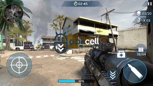 Counter Fort Invader CS Shooting v1.1.0 MOD APK – PARA HİLELİ