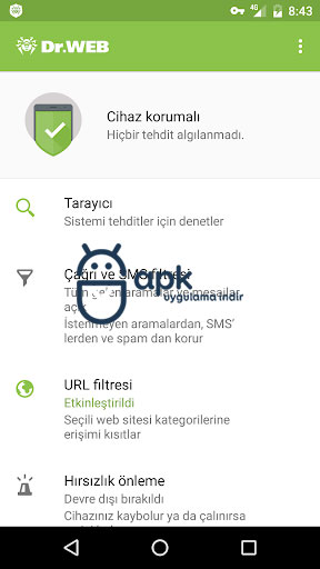 Dr.Web Security Space Life v12.3.1 FULL APK – 2020'ye Kadar LİSANS