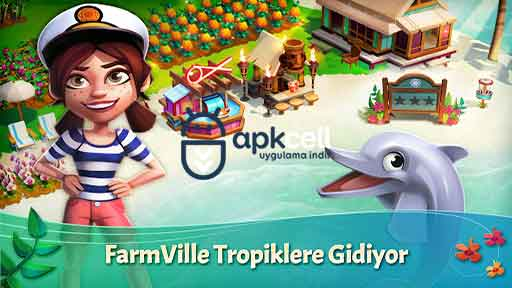 FarmVille Tropic Escape v1.40.1580 MOD APK – PARA HİLELİ
