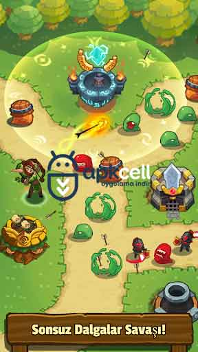 Realm Defense Hero Legends TD v2.2.2 MOD APK – MEGA HİLELİ