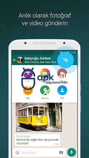 WhatsApp Messenger v2.19.34 FULL APK – TAM SÜRÜM
