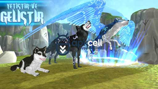 Wolf The Evolution Çevrimiçi RPG v1.93 MOD APK – PARA HİLELİ
