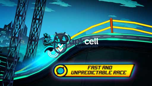 Bike Race Game: Traffic Rider Of Neon City v3.53 MOD APK – PARA HİLELİ