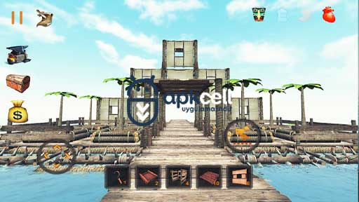 Raft Survival Ultimate v9.4.0 MOD APK – PARA HİLELİ