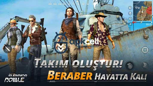 Survivor Royale v1.137 FULL APK – TAM SÜRÜM
