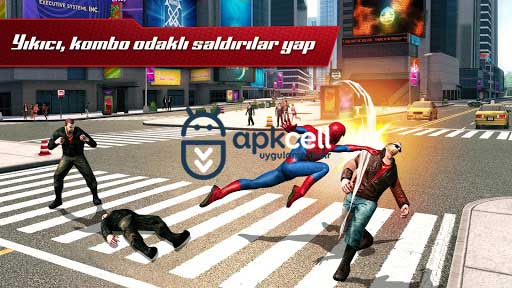 The Amazing Spider-Man 2 v1.2.8d MOD APK – MEGA HİLELİ