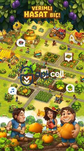 The Tribez Build a Village v10.1.0 MOD APK – PARA HİLELİ