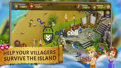 Virtual Villagers Origins 2 v2.5.12 MOD APK – MEGA HİLELİ