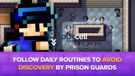 The Escapists v1.1.5.556924 MOD APK – PARA HİLELİ