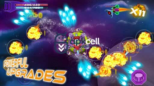 Space Defense Shooting Game v1.9.1 MOD APK – PARA HİLELİ