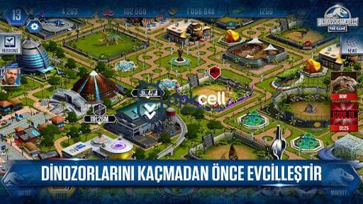 Android için Jurassic World The Game 1.35.8 İndir
