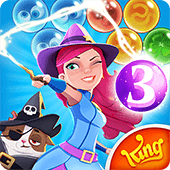 Bubble Witch 3 Saga v5.5.3 Android Can Hileli MOD APK İndir