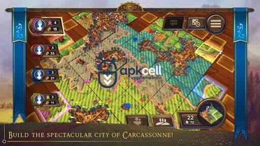 Carcassonne Tiles & Tactics v1.8 Android FULL APK İndir