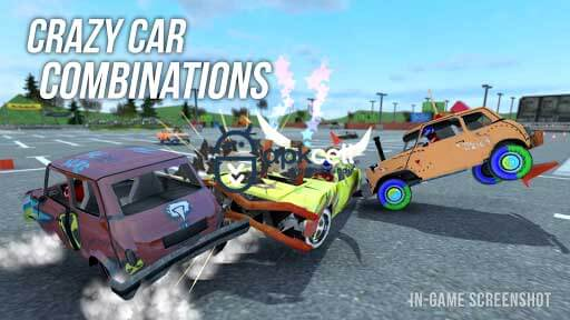 Demolition Derby Multiplayer v1.2.2 MOD APK – PARA HİLELİ