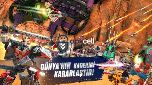 Transformers Earth Wars v5.1.0.174 MOD APK – ENERJİ HİLELİ