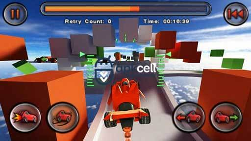 Jet Car Stunts v1.08 Android FULL APK İndir