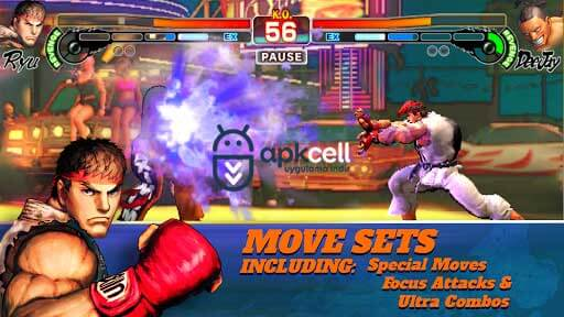 Street Fighter 4 Champion Edition v1.01.02 MOD APK – KİLİTLER AÇIK
