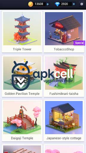 Pocket World 3D v1.0.8.2 Mega Hileli – MOD APK